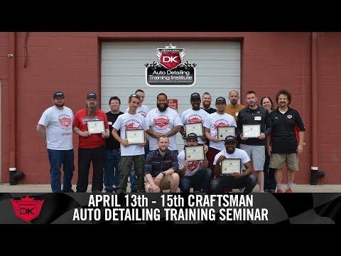 Auto Reconditioning Certification Seminar - April 13th - 15th