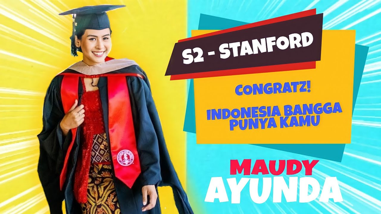Download Video Live Wisuda S2 Maudy Di Stanford University   Indonesia Bangga Punya Kamu! Congrats! MP3 Gratis