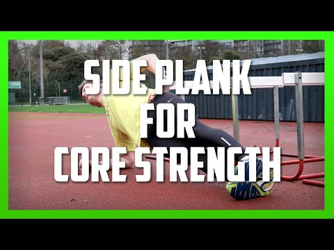 Side Plank Exercise for Core Strength [Ep36]