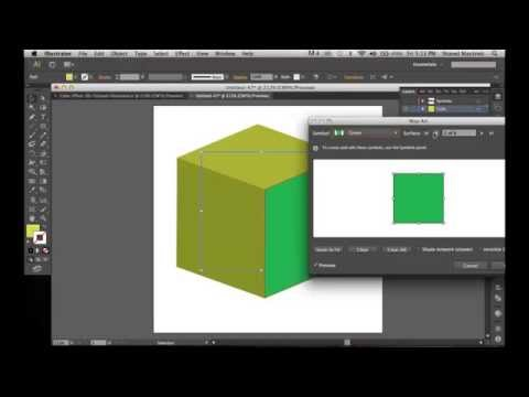 How To Create A Cube Effect In Illustrator Using Symbols