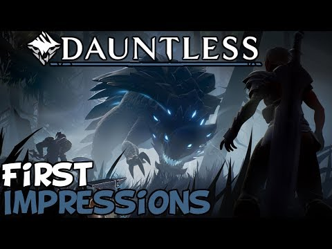 Dauntless First Impressions