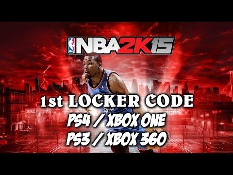 NBA 2K15 LOCKER CODE 1ST LOCKER CODE - PS4 / XBOX ONE & PS3 / XBOX 360