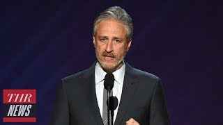 Jon Stewart Opens Up About Louis C.K. Admitting to Sexual Misconduct | THR News