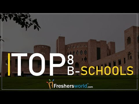 Top B-Schools in India - Best Place to do your MBA | List of Colleges