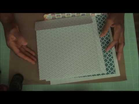 How to Make an Envelope for any sized Card...Really!  Part-1