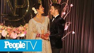 See Priyanka Chopra & Nick Jonas' 7-Tier Wedding Cake Inspired By Palace Where They Wed | PeopleTV