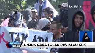 Mahasiswa Tuntut DPR Cabut Revisi UU KPK
