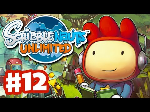 Scribblenauts Unlimited - Gameplay Walkthrough Part 12 - Majuscule Grotto (PC, Wii U, 3DS)