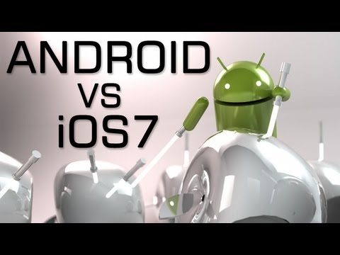 iPhone 5S WEEK 1 - Android vs iOS 7