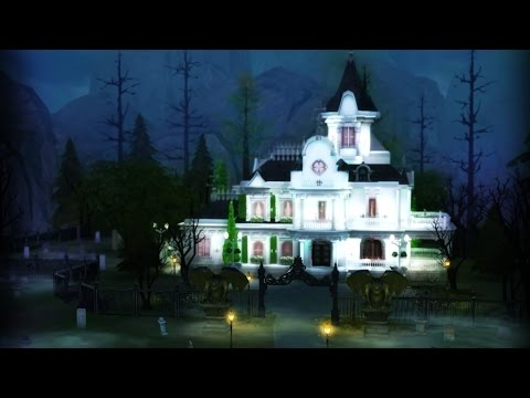 Building a VICTORIAN MANOR l The Sims 4 (VAMPIRE GAME PACK)