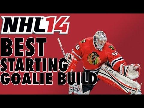 Best Beginning Goalie Build in NHL 14 EASHL