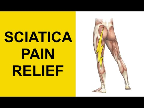 Sciatica Pain Relief Exercises for Herniated Discs (Slipped Discs) and Pinched Nerve