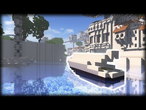 How to Build a working BOAT in Minecraft