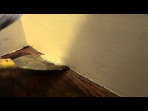 Painting Trick-Avoid Using Painter's Tape
