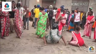 رقص نار  إفريقي.