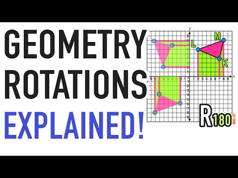 ☆ How Do I Rotate a Figure?  | Common Core Geometry Transformations