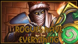 Hearthstone: Rogues have everything (miracle rogue)
