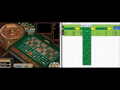 ***NEW*** How to win money at roulette -Tuto- Excel Sheet