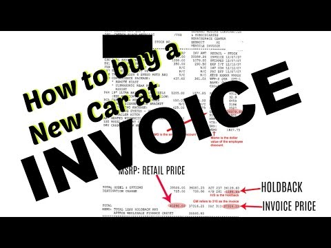 How to buy a New Car at INVOICE | Step by Step on how to Negotiate & SAVE Money