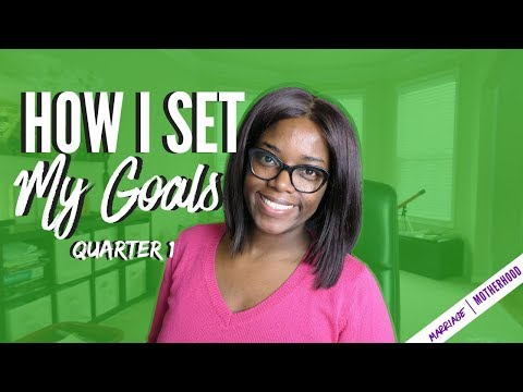 How to Set GOALS for 2018 | The 12 Week Year