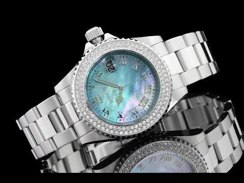 Invicta 19872 40mm Women's Angel Blue Mother of Pearl Bracelet Watch