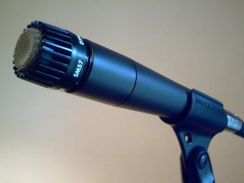 Shure SM 57 microphone - short review