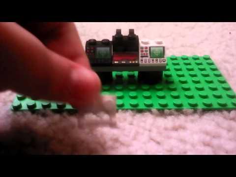 How to make a Lego batcomputer