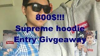 Supreme Bogo Hoodie Giveaway Entry!!