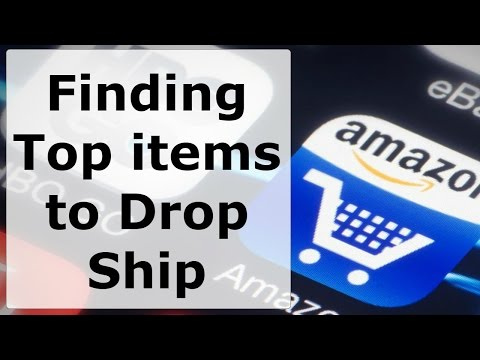 How to Find Top Selling items to Drop Ship on Amazon