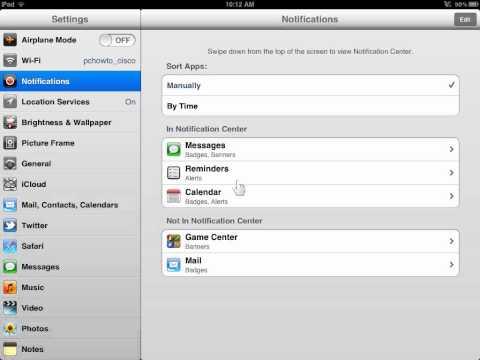 Apple iPad Turn On Music Sound Check