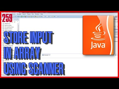 LEARN JAVA How to store input values in array