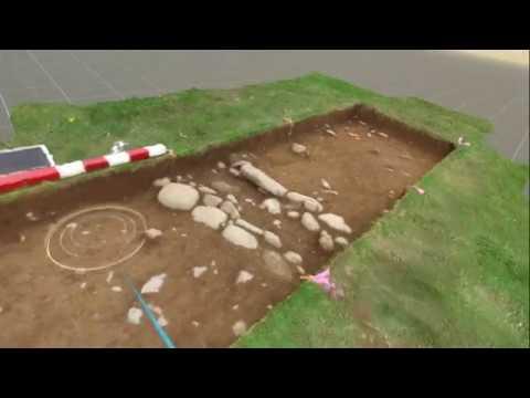 SketchFab VR Test - Archaeology sites