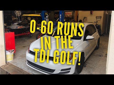 TDi 0 to 60 Runs!!!