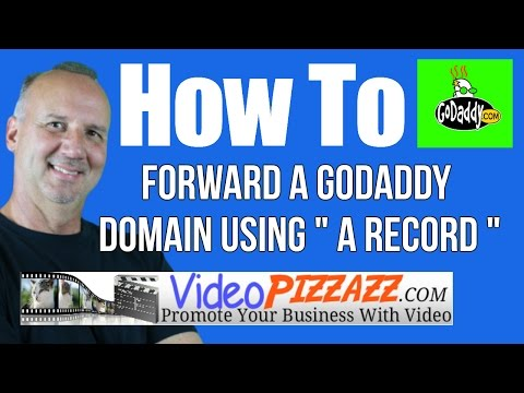 How To Forward A GoDaddy Domain Using A RECORD And CNAME - 404 Error