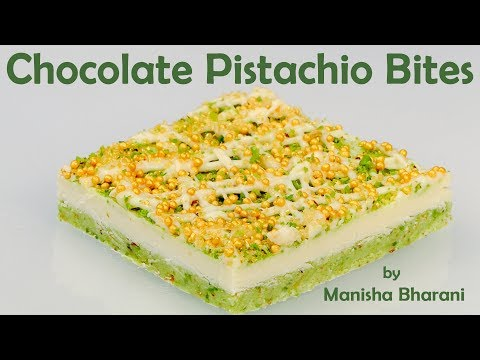 Chocolate Pistachio Bites New Year Recipe Simple Easy Chocolate At Home