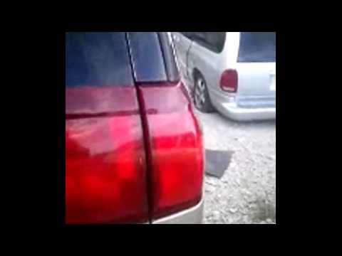How to easily replace tail light bulb on 2001-2007 Buick Rendezvous