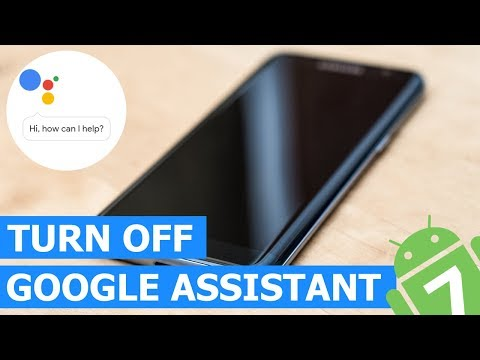 How to Turn Off Google Assistant on a Samsung Galaxy (Android 7)