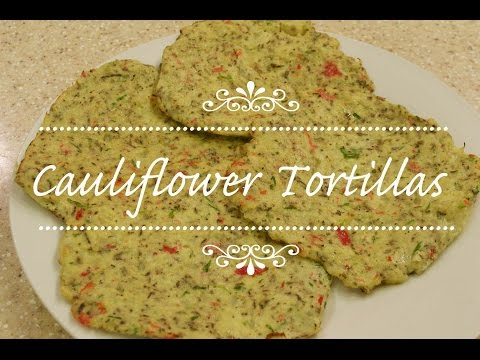 How To Make Cauliflower Tortillas With A Difference (View in HD)