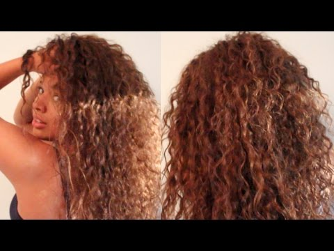 Everyday Curly Hair Care Routine for School