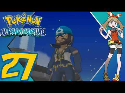 Pokémon Alpha Sapphire - Episode 27 - Team Aqua & Magma in Mt. Chimney - Gameplay Walkthrough