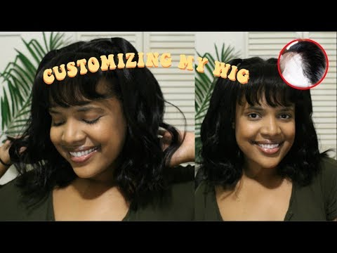 HOW TO: Glue-less! No Hair Left Out! Full Lace Wig Customization - R&S Hair