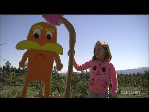 Lorax stands up for Earth Day as trees are cut down