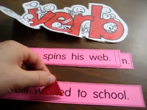 Grade 1 - Language Arts, Grammar game: Find the