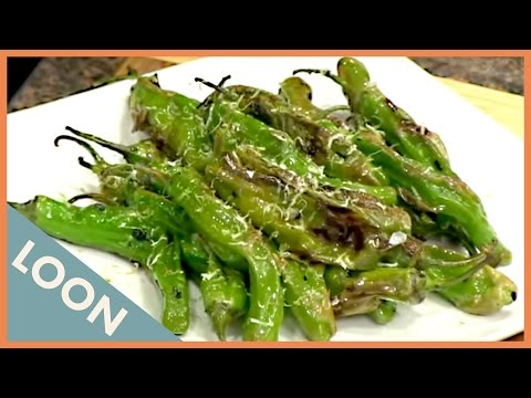 How To Cook Sides: Seared Shishito Peppers - How To Feed A Loon