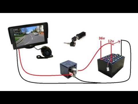 Forklift Camera Install $50