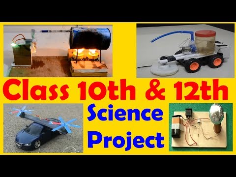 CBSE Class 10th Science Working Model Projects Ideas MUST WATCH