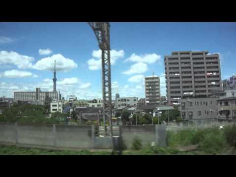 Tokyo Skytree from Narita Express (東京スカイツリー)