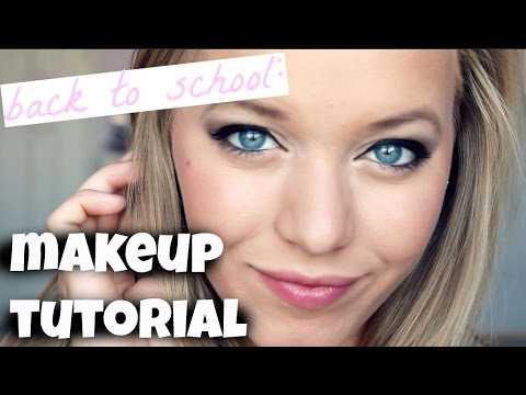BACK TO SCHOOL MAKEUP TUTORIAL | Sarah Burgett