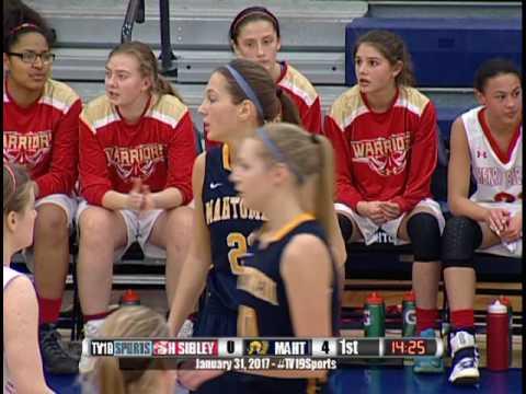 Girls Basketball - Mahtomedi vs Henry Sibley - 1/31/17