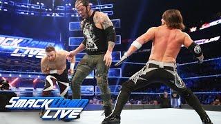 Sami Zayn vs AJ Styles vs Baron Corbin - US Title #1 Contender